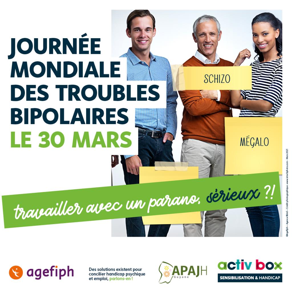 Journée Mondiale des troubles bipolaires